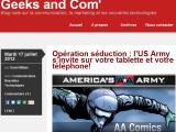 Nouvelle collaboration sur Geeks and Com' !