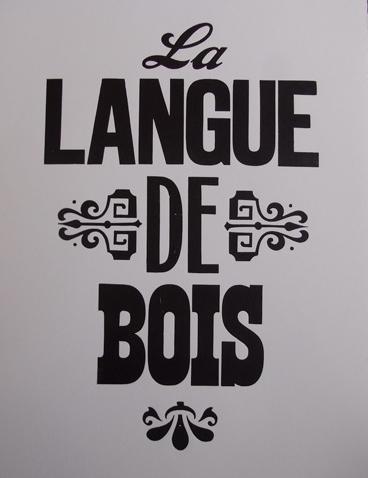 Langue-de-bois