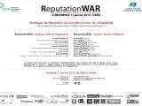 #ReputationWar, demandez le programme!